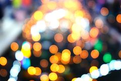 Abstract background with soft blur bokeh light effect. royalty free stock image