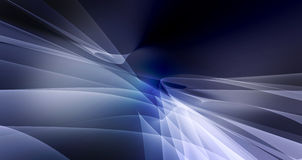 Abstract background with soft curves. Abstract blue background with soft curves vector illustration
