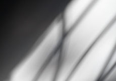 Abstract background of soft shadow lines. Stock Photography