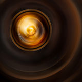 Abstract background. Softness circle dark brown abstract background Stock Photography