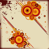 Abstract background with some circles. Royalty Free Stock Photo