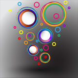 Abstract background Songkran Festival. Royalty Free Stock Images