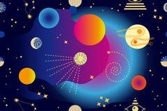 abstract background space Ελεύθερη απεικόνιση δικαιώματος