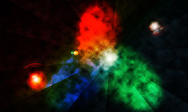 Abstract background, space nebular theme Stock Photography