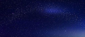 Abstract background is a space with stars nebula Royalty Free Stock Photo