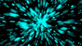 Abstract background with space travel. 3d rendering Royalty Free Stock Photography