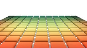 Abstract background spectrum chart Royalty Free Stock Photography