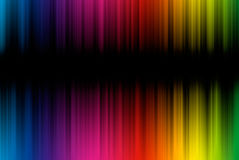 Abstract background from spectrum lines with copy. Abstract background from spectrum lines on a black background vector illustration