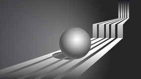 Abstract background. Sphere Royalty Free Stock Image