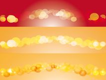 Abstract background with spheres Stock Image