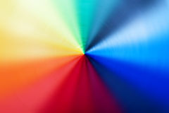 Abstract background of spin circle radial blur in rainbow colors Royalty Free Stock Photography