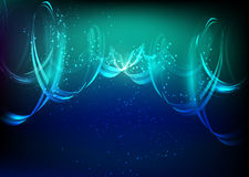 Abstract background with spiral element Stock Image