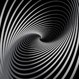 Abstract background with spiral whirl movement. Whirlpool. Vector illustration Royalty Free Stock Photo