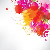 Abstract background with splash. This is file of EPS10 format Stock Image
