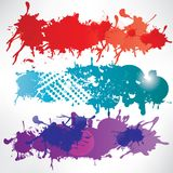 Abstract background with splash Stock Photography