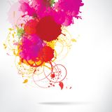 Abstract background with splash. This is file of EPS10 format Stock Photos