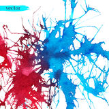 Abstract background. Splash watercolor background Royalty Free Stock Photography