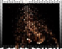 Abstract background. Spotted halftone effect. Dots, circles. Abstract background. Spotted halftone effect. Geometric low polygonal illustration. Design element Royalty Free Stock Photo