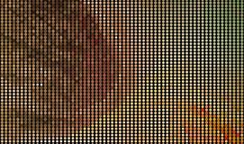 Abstract background. Spotted halftone effect. Dots, circles. Abstract background. Spotted halftone effect.. Geometric low polygonal illustration. Design element Royalty Free Stock Images