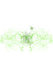 Abstract background - Spring Green Royalty Free Stock Image