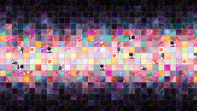 Abstract background, square Stock Image