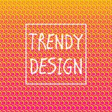 Abstract background 48. Square abstract background with halftone pattern in neon colors. Gradient texture made of round spiral shapes. Design template of flyer vector illustration