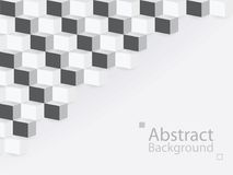 Abstract background square 3d modern paper. This is abstract background square 3d modern paper vector illustration