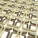 Abstract background of square elements on white Royalty Free Stock Photography