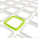 Abstract background of square elements on white Stock Image