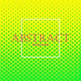 Abstract background 46. Square abstract background with halftone pattern in neon colors. Gradient texture made of stars shapes. Design template of flyer, banner Royalty Free Stock Images
