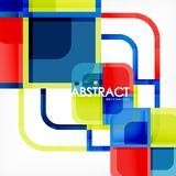 Abstract background, square shapes geometric composition. Vector eps10 illustration royalty free illustration