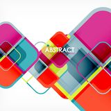 Abstract background, square shapes geometric composition. Vector eps10 illustration vector illustration