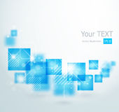 Abstract background with square shapes Stock Photos