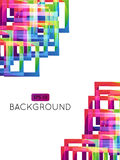 Abstract Background Squares 1 EPS 10 Transparency Royalty Free Stock Photos