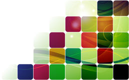 Abstract background with  squares Stock Photography