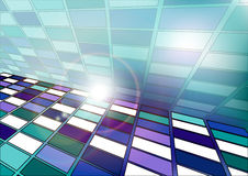 Abstract background of squares Stock Images