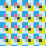 Abstract background with squares. Cute,eps10 royalty free illustration