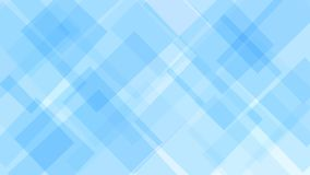 Abstract background of squares. Abstract background of translucent squares or rhombuses in light blue colors vector illustration