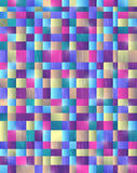Abstract background. Squares color modern Royalty Free Stock Photography