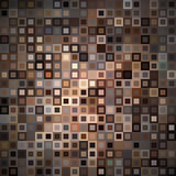 Abstract background with squares. Abstract background with colorful brown squares Royalty Free Stock Photography