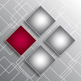 Abstract background with squares. Abstract background with four squares for your business and design Stock Photo