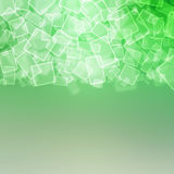 Abstract background with squares Stock Image