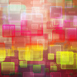 Abstract background with squares Stock Images
