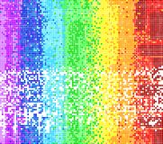 Abstract background from squares - a picture from Royalty Free Stock Photography