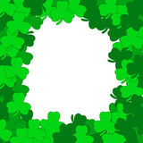 Abstract background of a St. Patrick's Day. Vector illustration Royalty Free Stock Photos