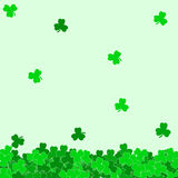 Abstract background of a St. Patrick's Day. Vector illustration Stock Photo