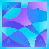 Abstract background from stained glass. Vector art depicting stained glass window Royalty Free Stock Photo