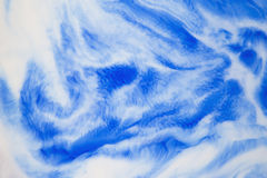 Abstract background with stains of ink and milk.  Royalty Free Stock Image
