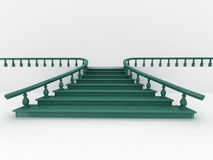 Abstract background. Stairs Royalty Free Stock Image
