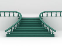 Abstract background. Stairs Stock Photos